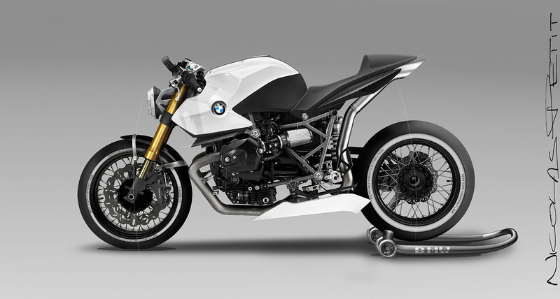 Found On OttoNero Cafe Racer Site HP2 CafR Concepts